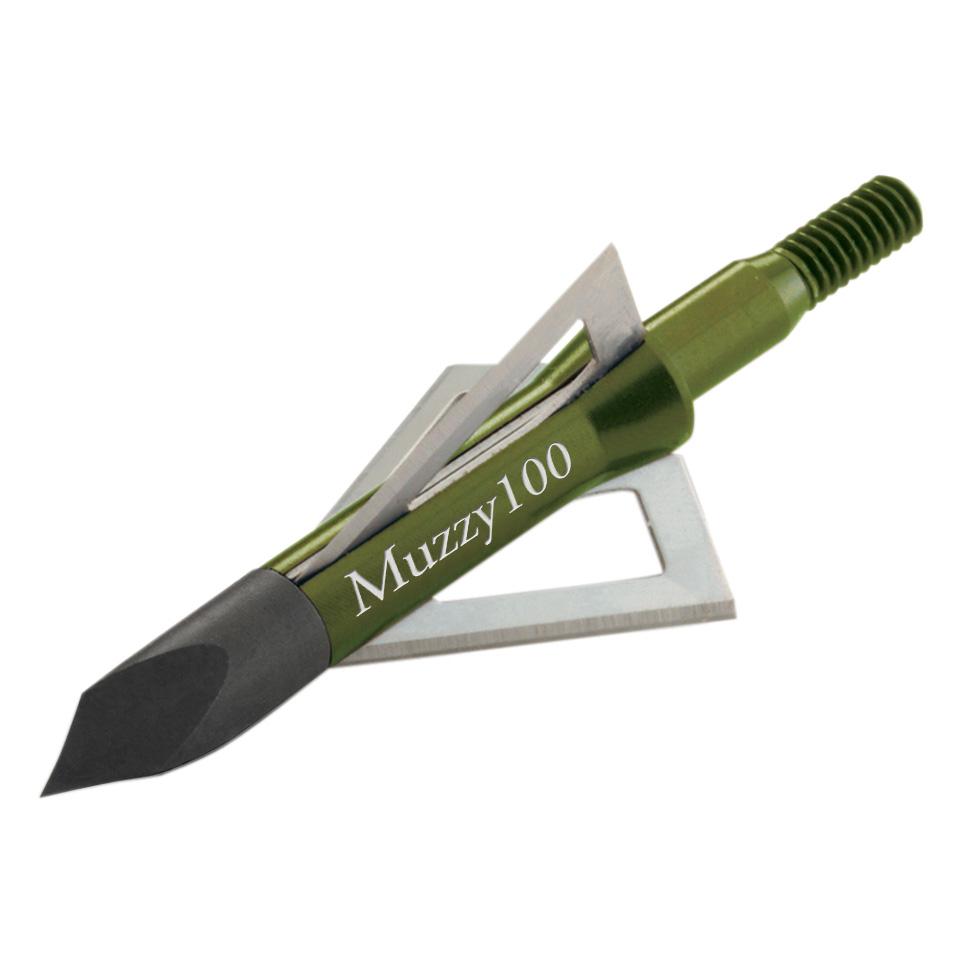 Muzzy Three-Blade 100-Grain Broadheads, 6-Pack