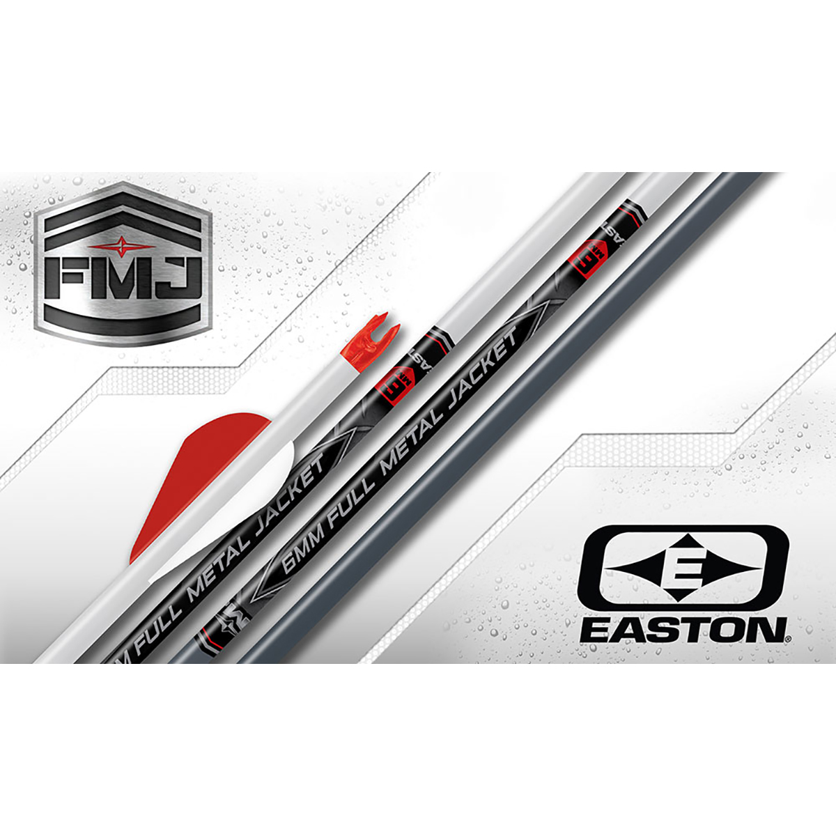 Easton 6mm Full Metal Jacket Arrows, Size 390, 6-Pk.