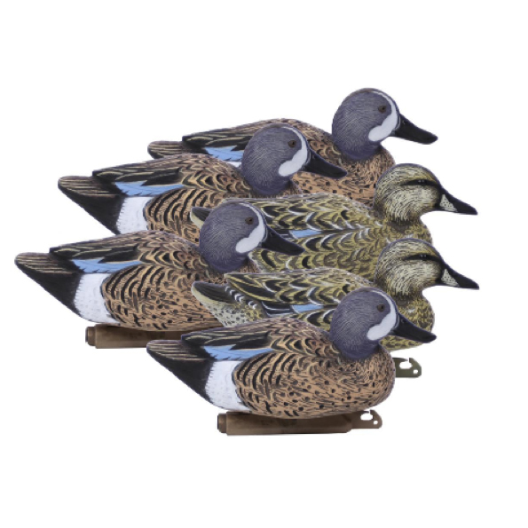 Higdon Outdoors Standard Blue-Wing Teal Decoys, 6-Pack