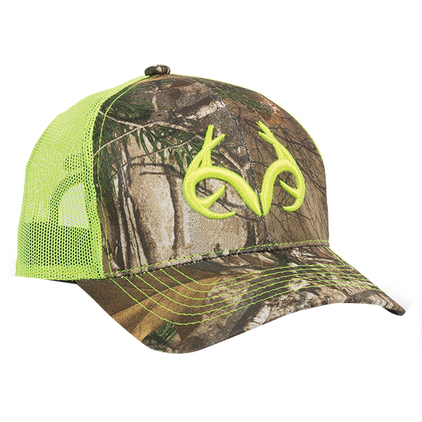 Realtree Men's Logo Mesh Back Cap