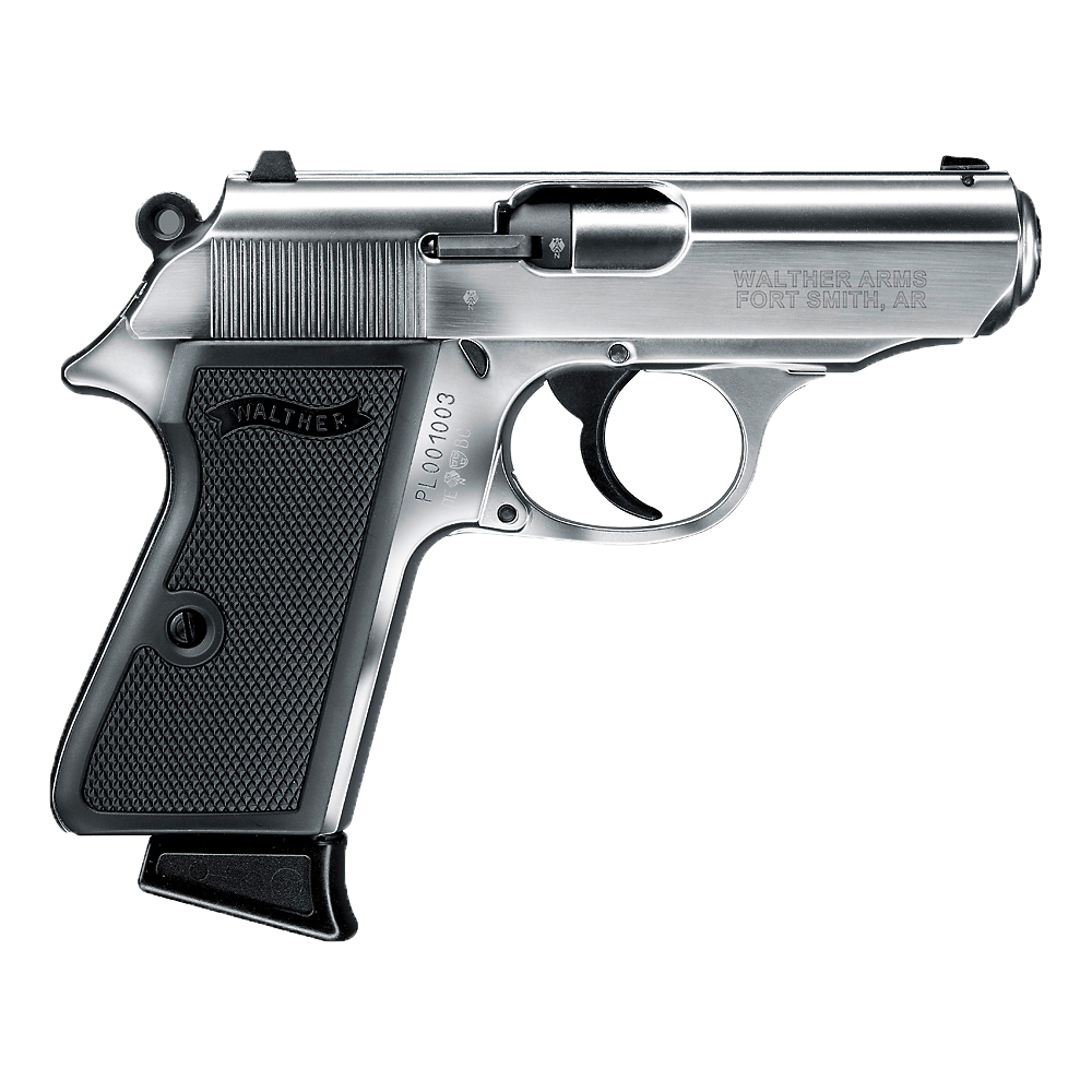 Walther PPK/S .22 Handgun, Nickel thumbnail