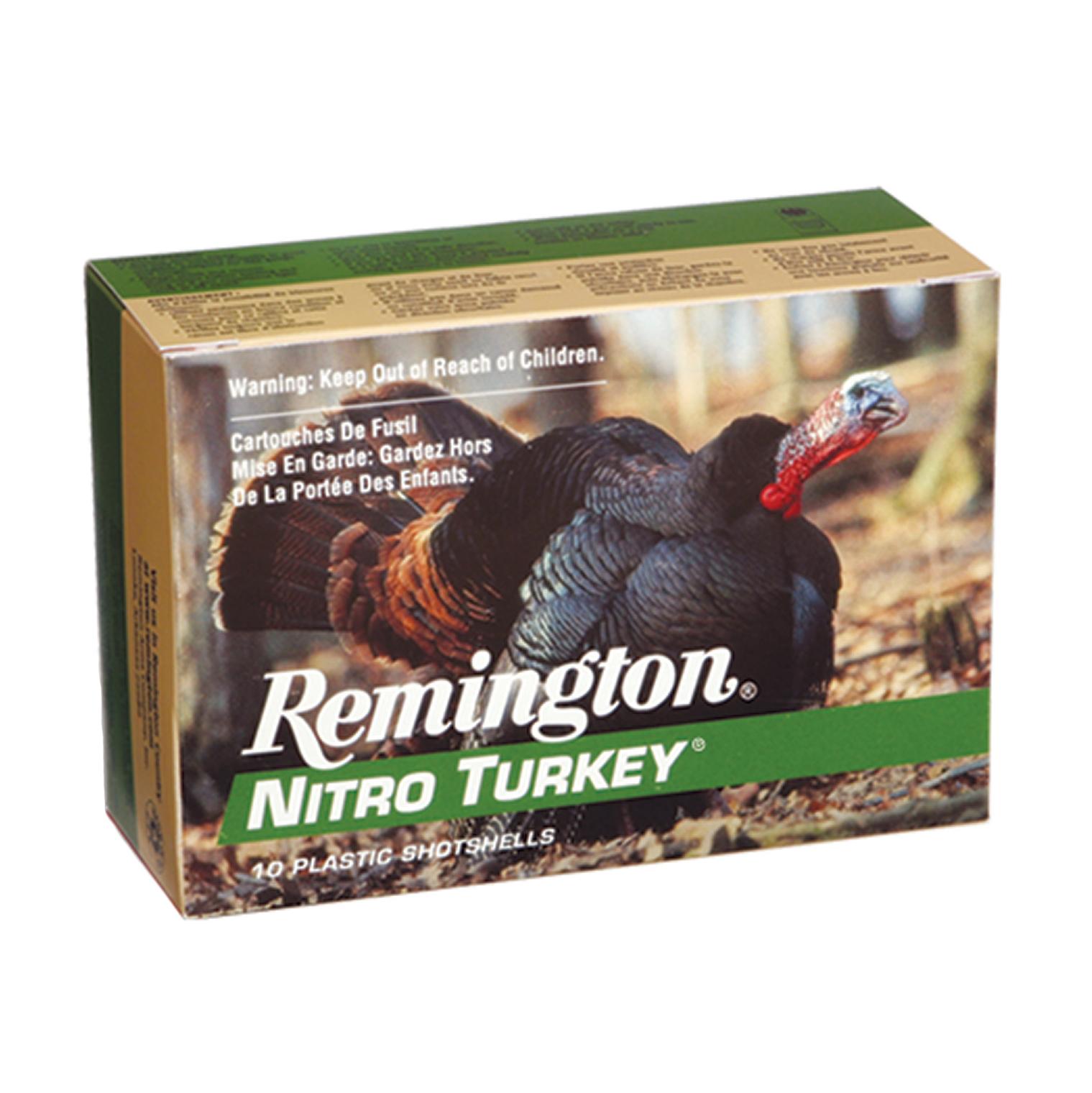 Remington Nitro Turkey Buffered Loads, 12-ga, 3-1/2″, 2-oz, #5