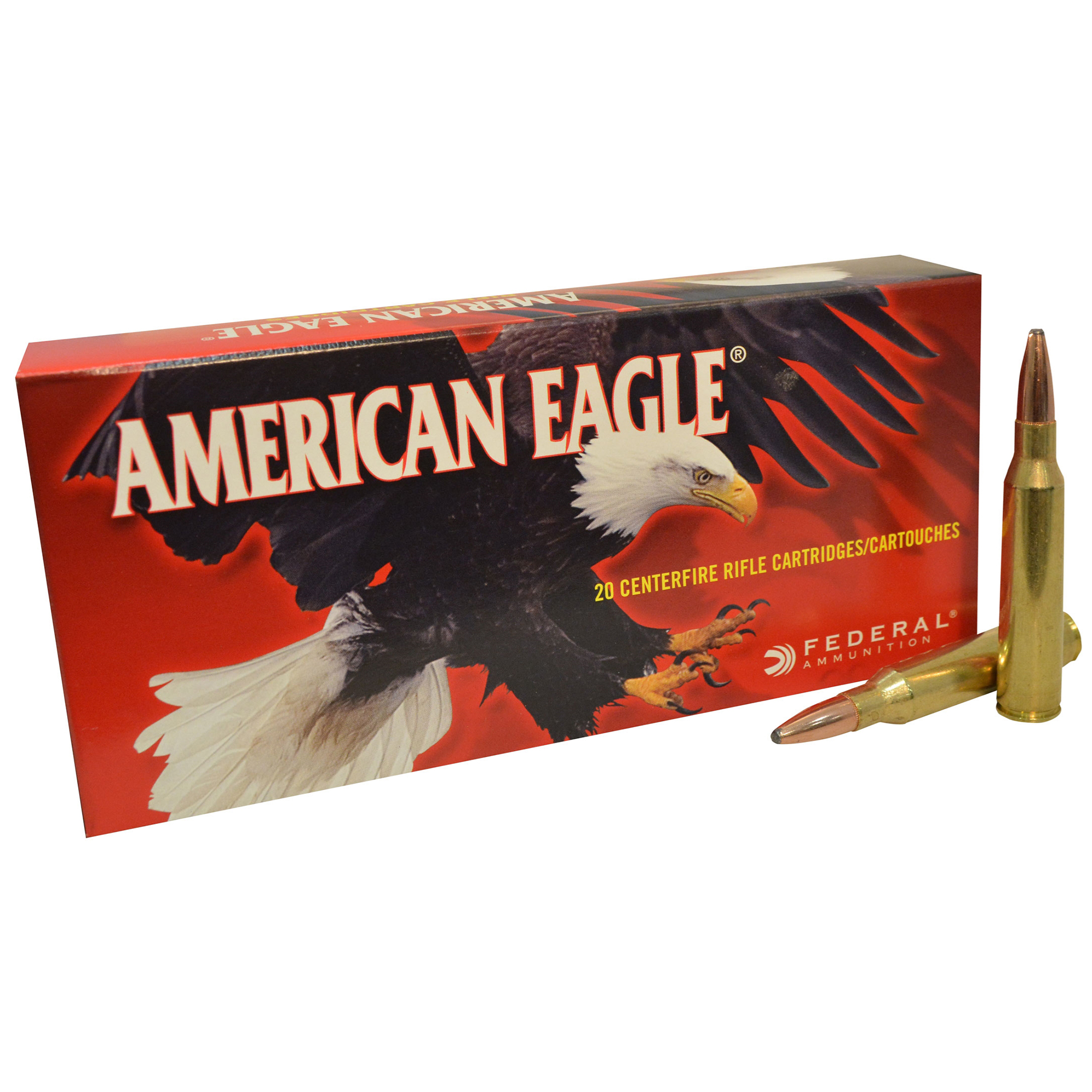 American Eagle Rifle Ammunition, .338 Lapua, 250-gr, Soft Point