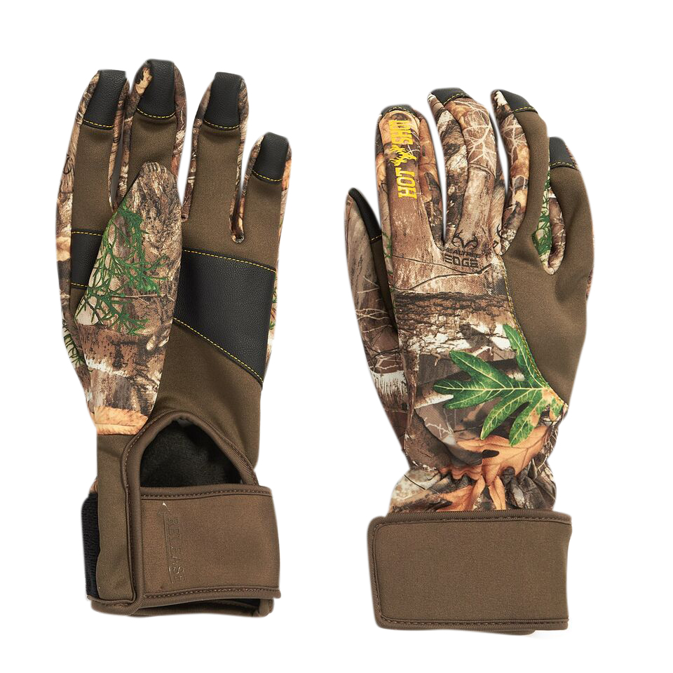 Hot Shot Men's Axel Stretch Fleece Touch Bowhunting Glove
