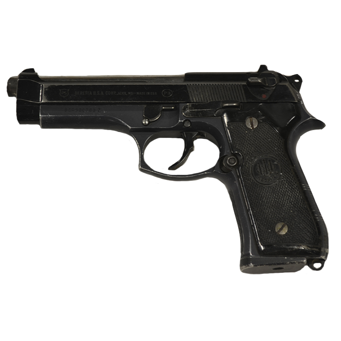 Used Beretta 92S Handgun, 9mm