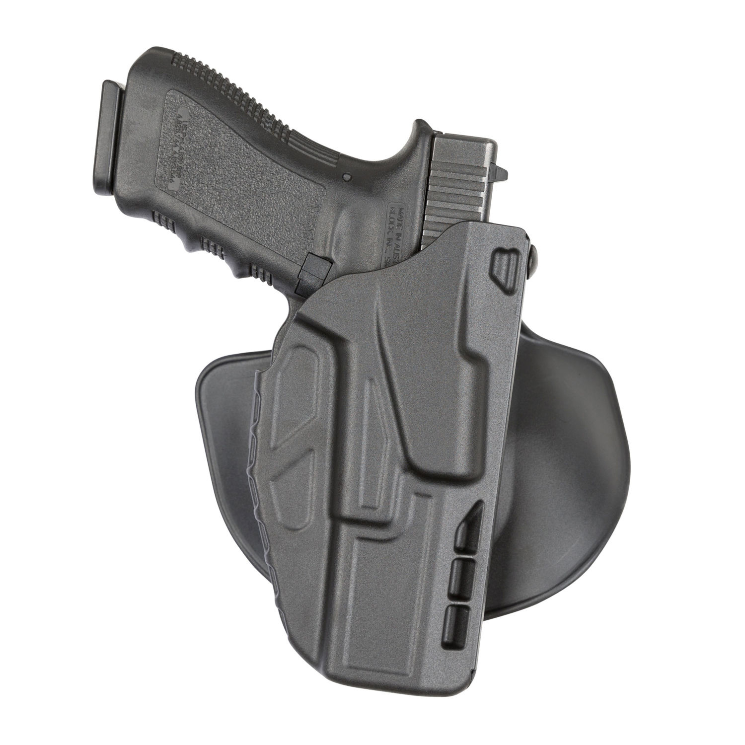 Safariland Model 7378 7TS ALS Open Top Concealment Paddle Holster, Glock 19