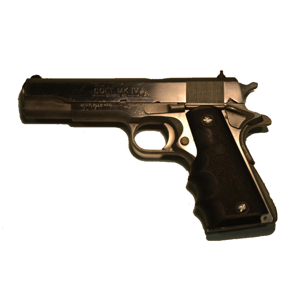 Used Colt Mark IV Series 80 Handgun, .45 ACP