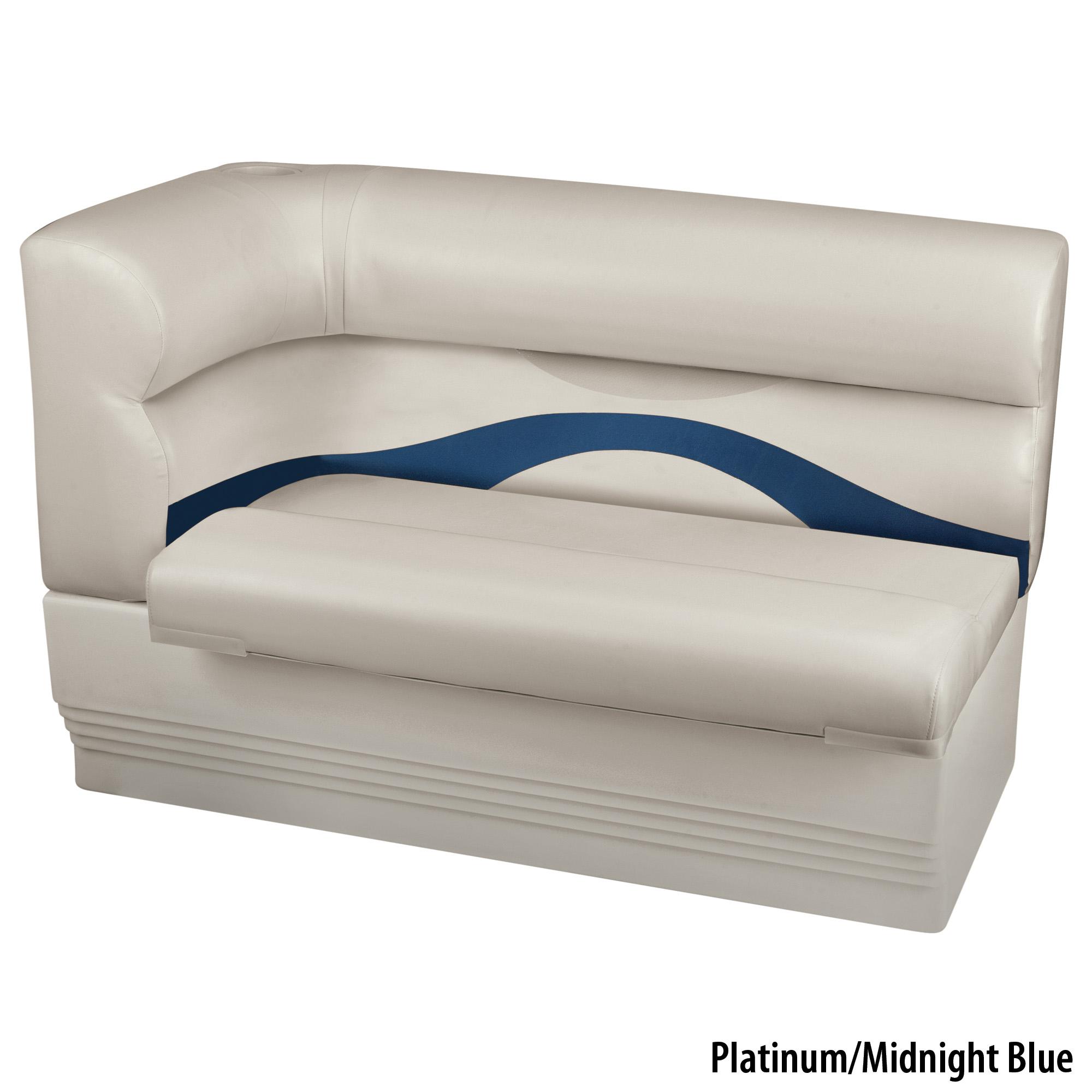 Toonmate Premium Pontoon Right-Side Corner Couch w/Platinum Base