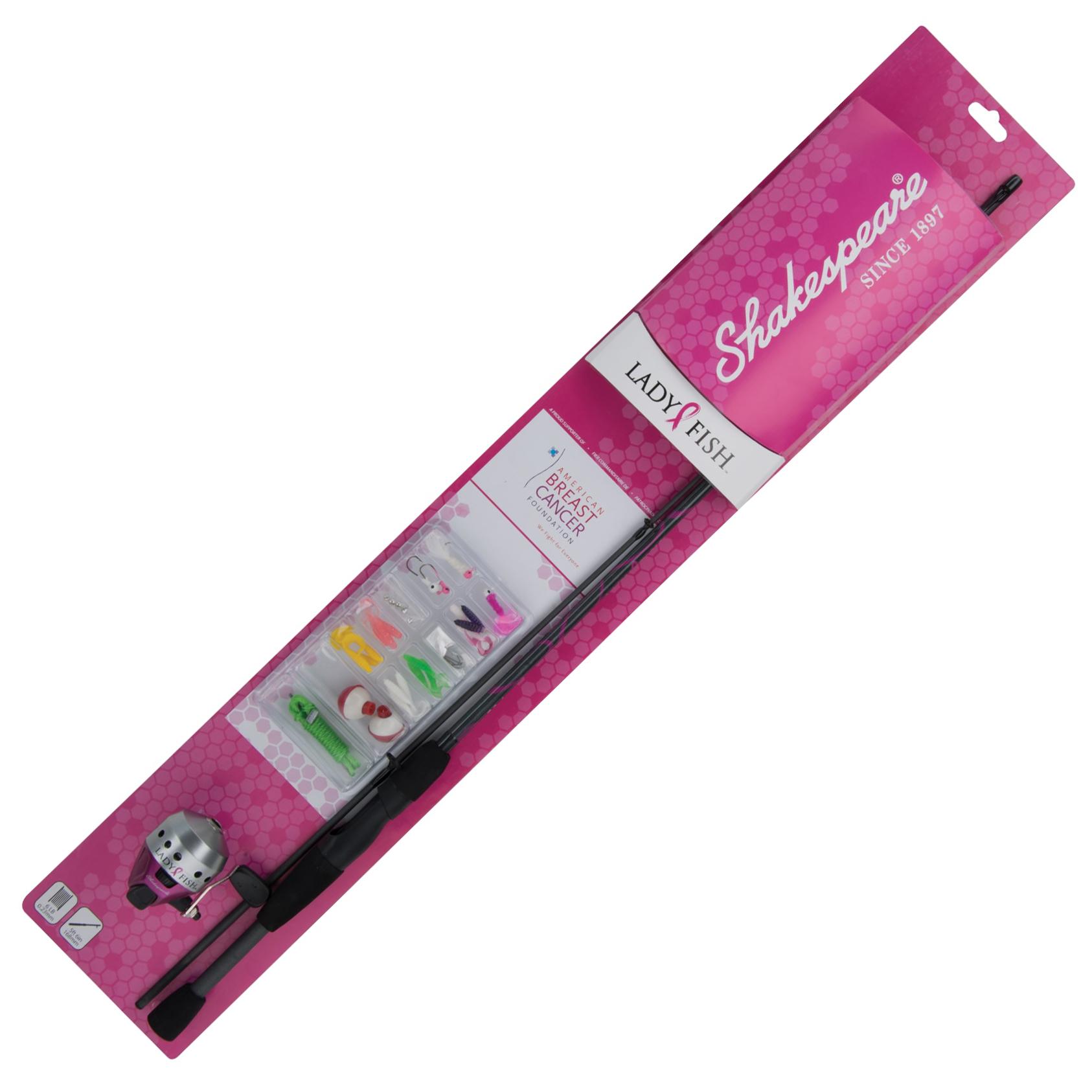 Shakespeare Ladyfish Spincast Combo Kit