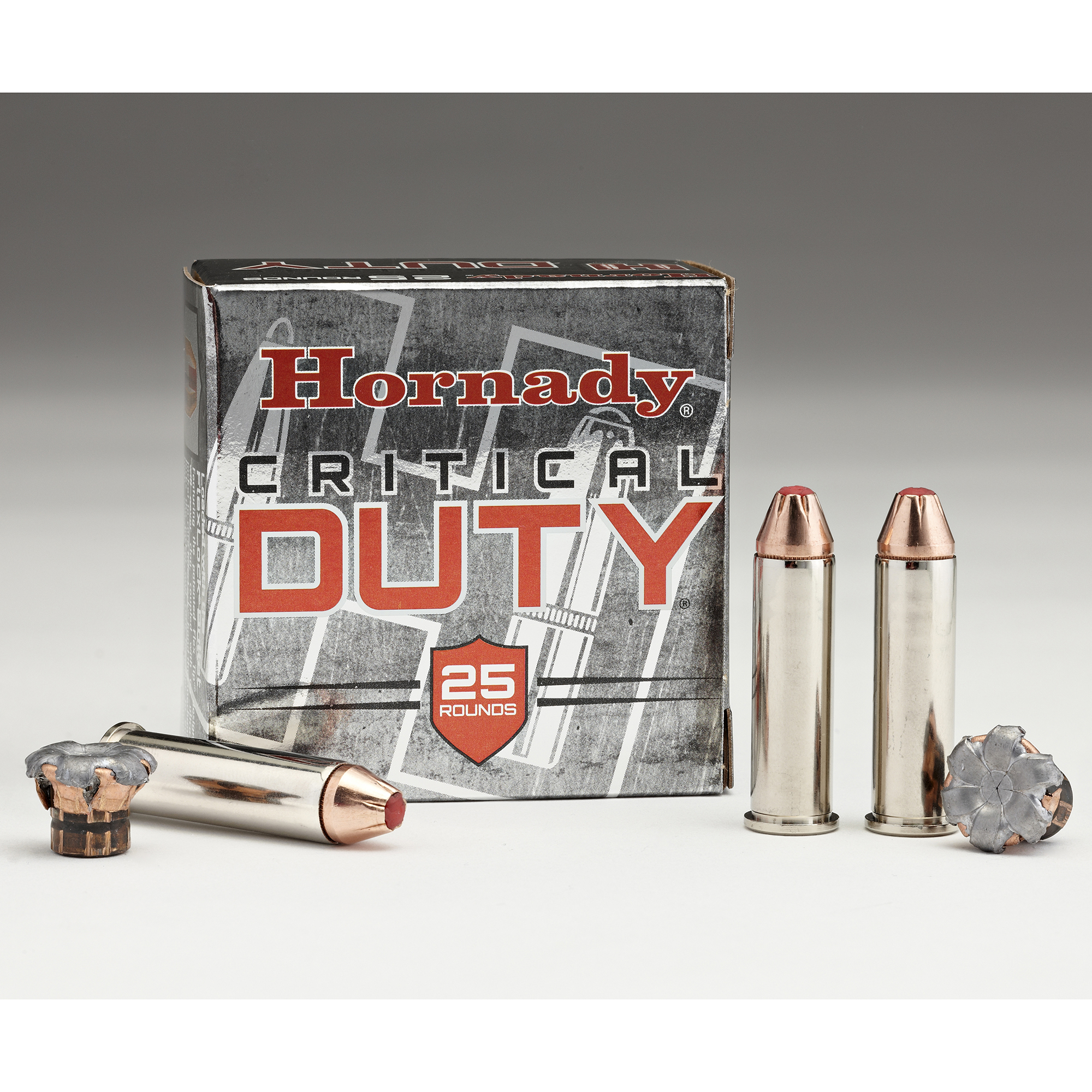 Hornady Critical Duty Ammo, 9mm, 135-gr, FlexLock, 25 Rounds