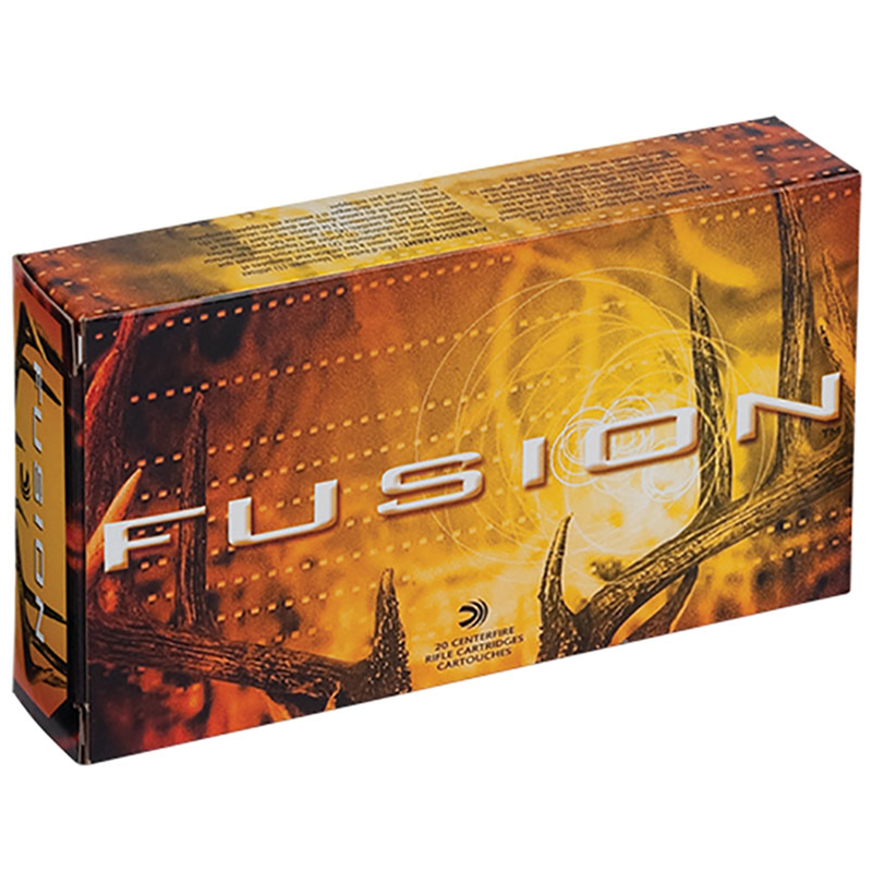 Fusion Rifle Ammunition, 6.5 Creedmor, 140-gr, BTSP