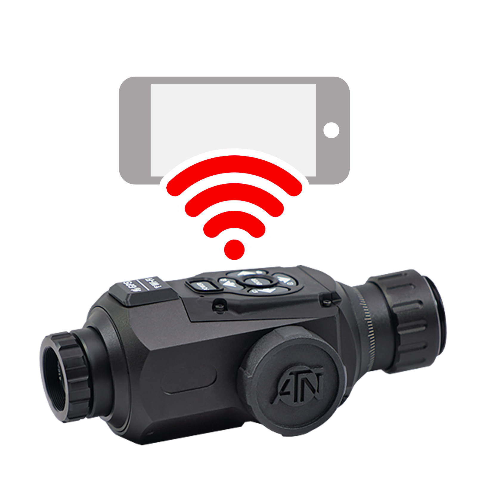 ATN OTS-HD Monocular, 2-8×25