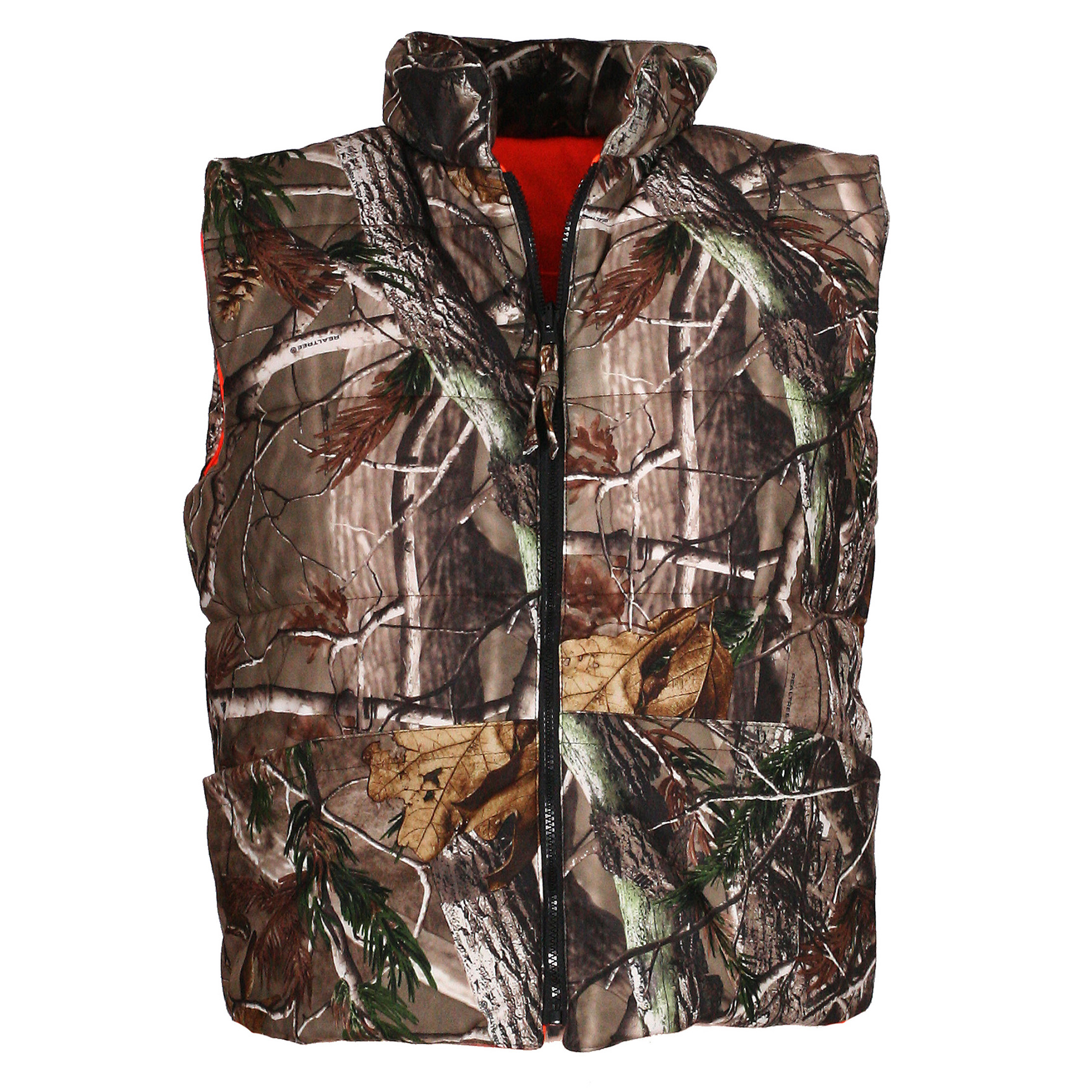 Gamehide Men's Deer Camp Reversible Waterproof Insulated Vest