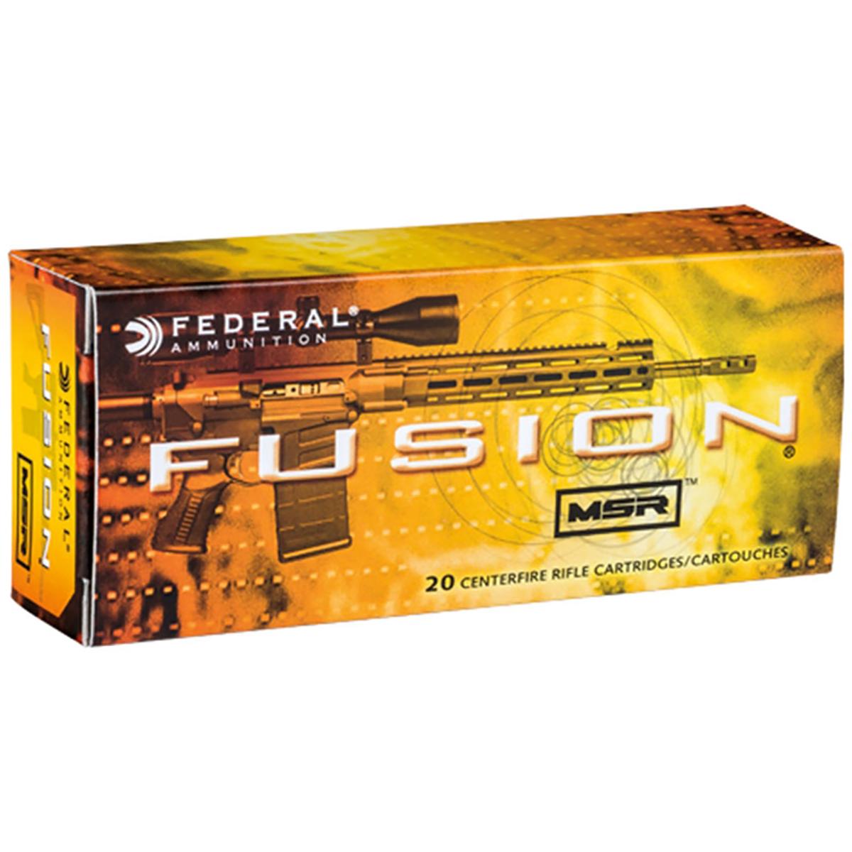 Fusion MSR Rifle Ammunition, 6.5 Grendel, 120-gr, Soft Point