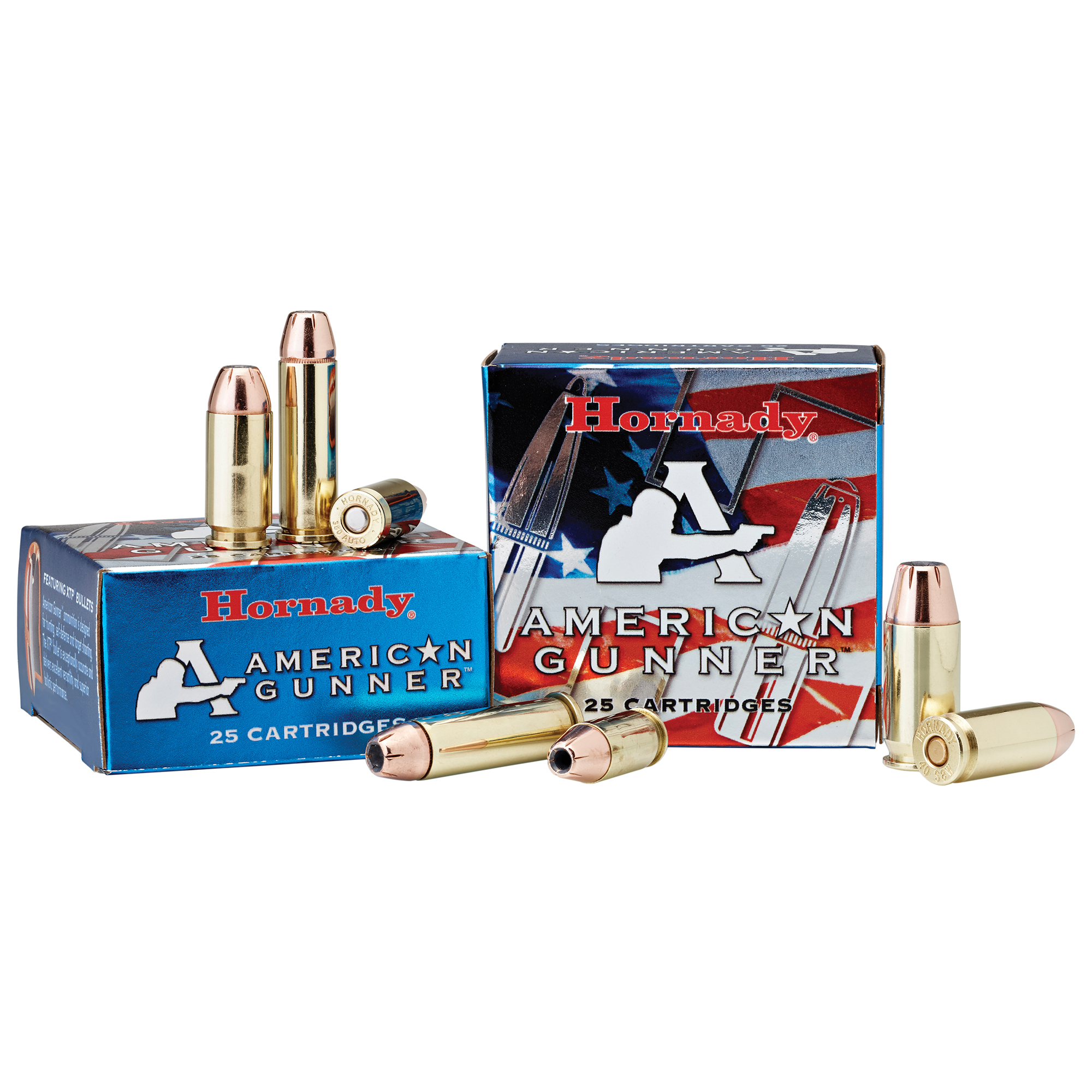 Hornady American Gunner Handgun Ammunition, .38 Special, 125-gr, XTP