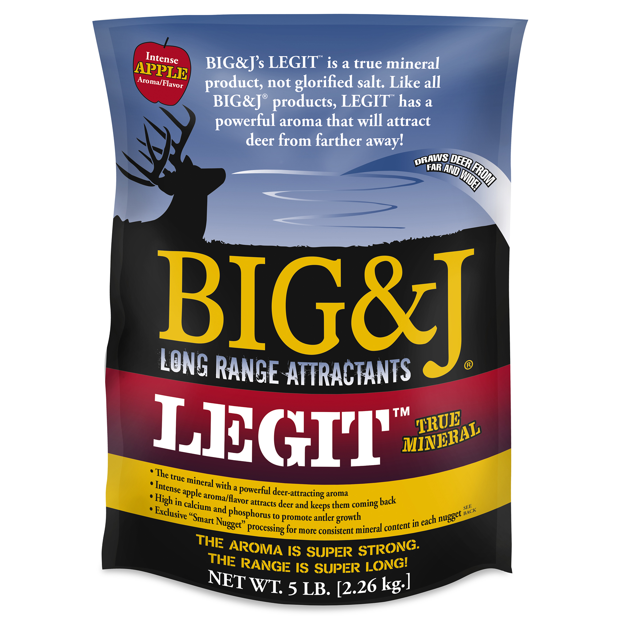 Big & J Legit Mineral Deer Attractant, 5 lbs.