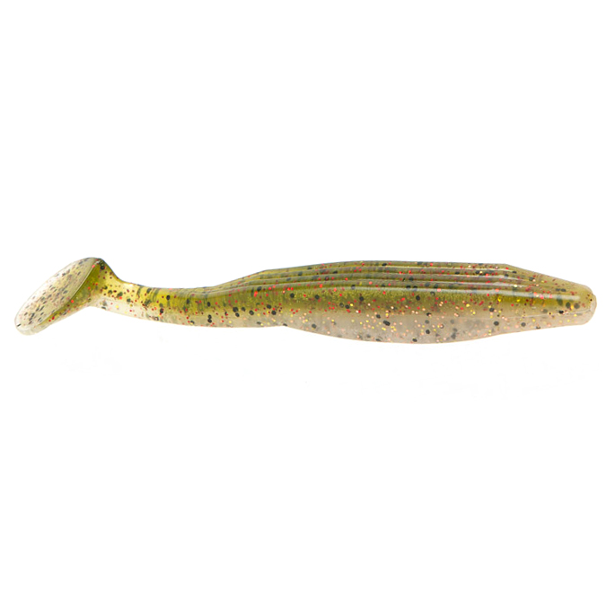 Zoom Bait Swimmin' Super Fluke, 4-1/2″, 5-Pack