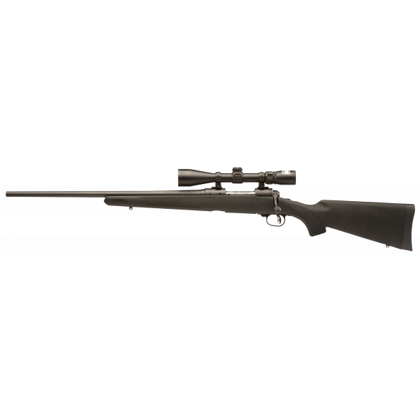Savage Model 111 Trophy Hunter XP LH Centerfire Rifle Package, .270 Win, Black thumbnail